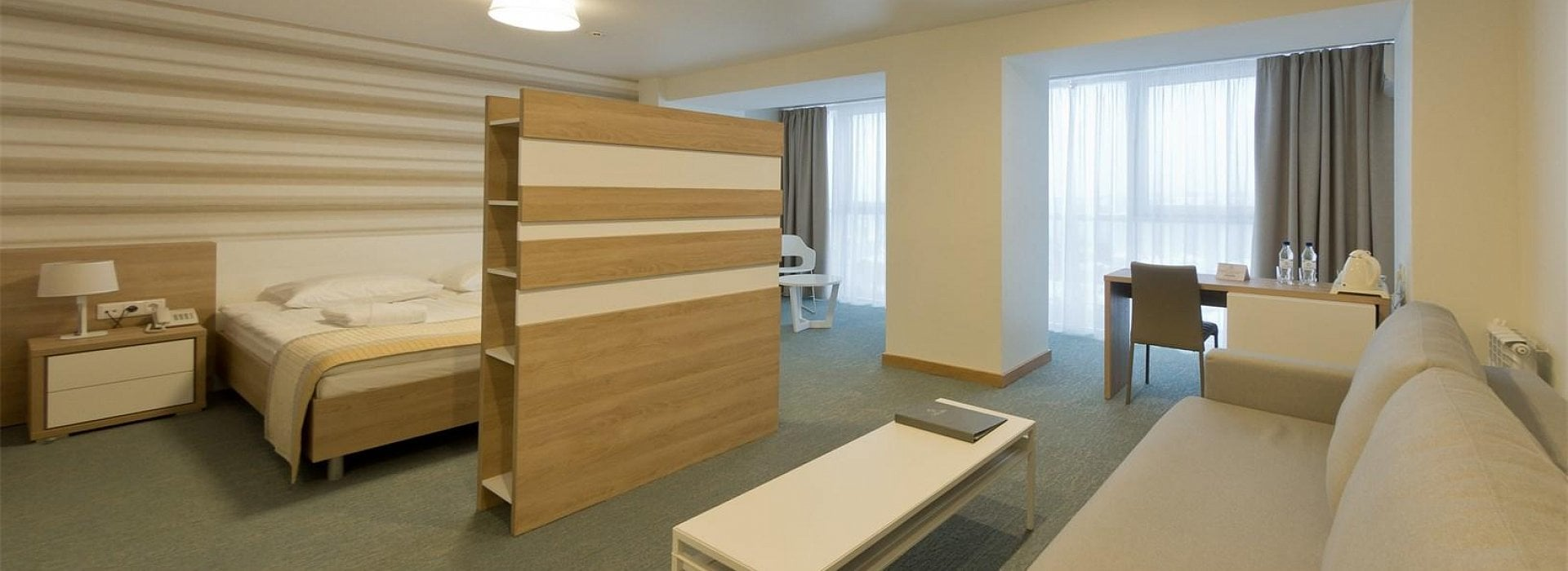 Junior Suite with views of the Volga river (RV)